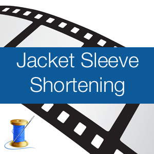 Jacket Sleeve Shortening