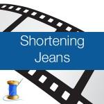 Shortening Jeans